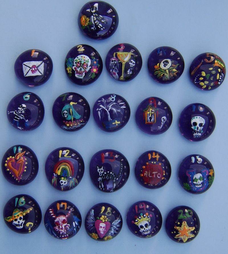 Day of the Dead Crowstones
